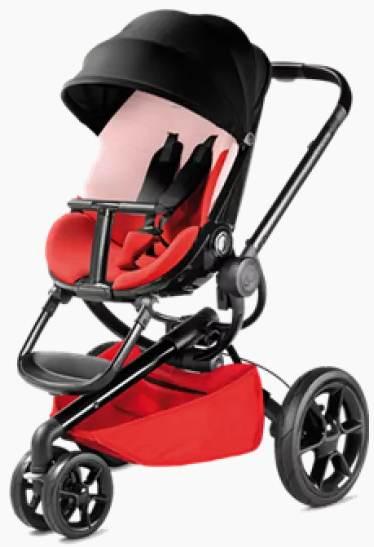 Quinny Moodd 2016 kočárek reworked red