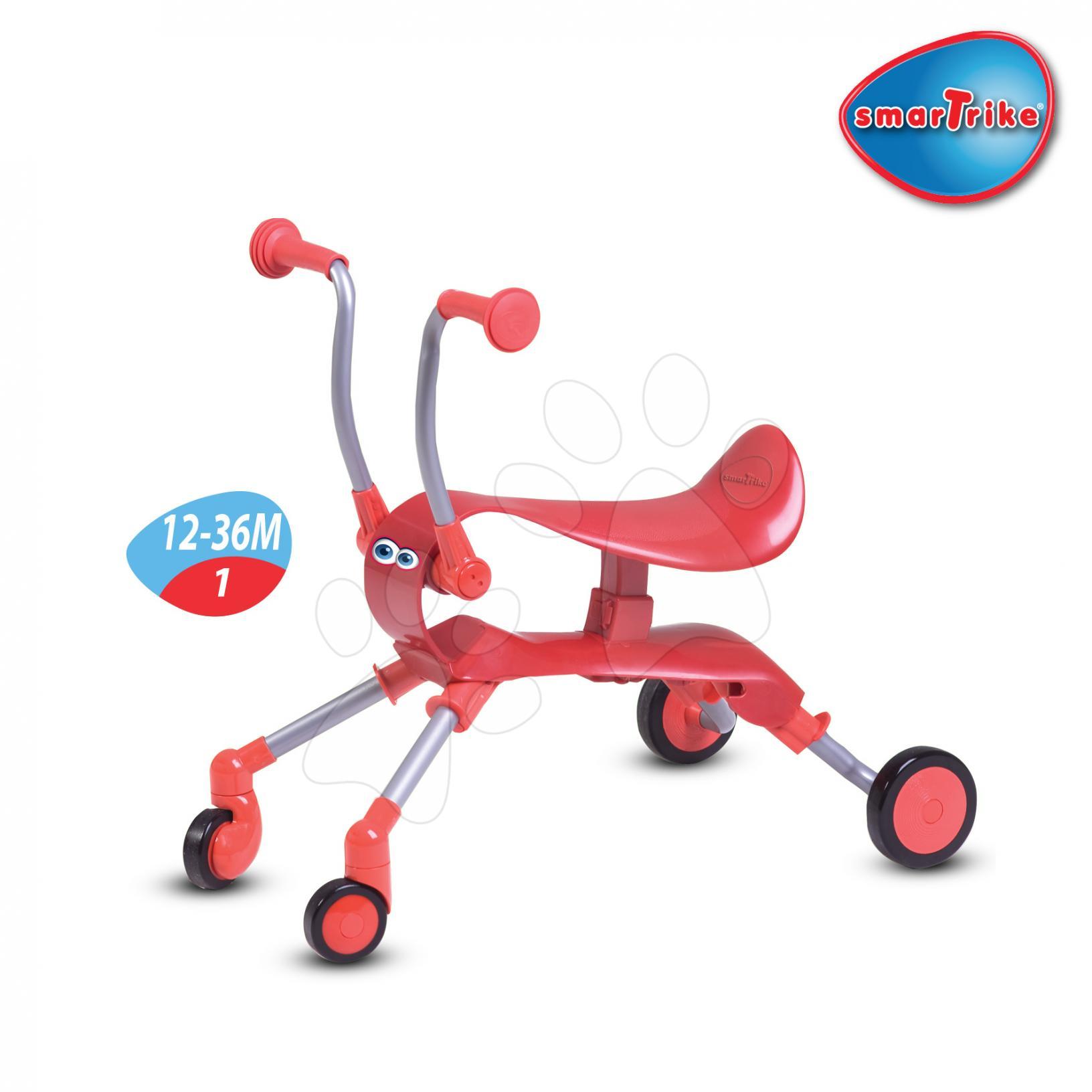 SMART TRIKE 9003500 odrážadlo Springo od 12-36 mesiacov červená
