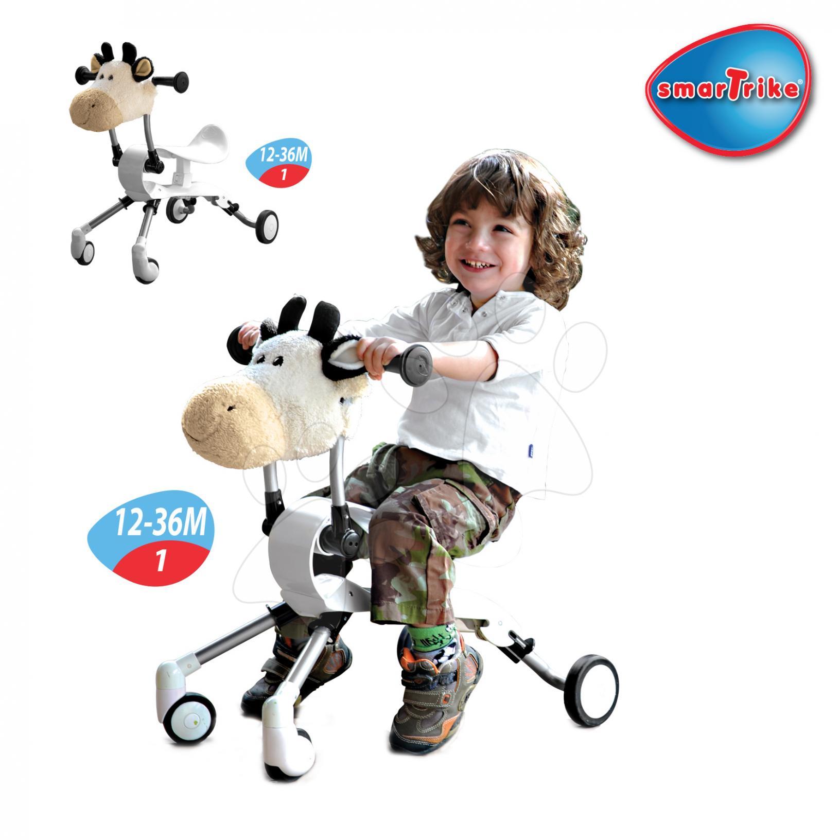 SMART TRIKE 9002400 odrážadlo Springo Farm od 12-36 měsíců kravička