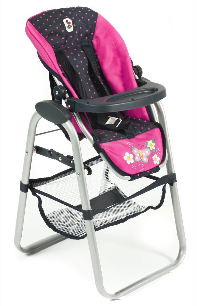 Bayer Chic Vysoká jídelní židlička pro panenky 2016 12