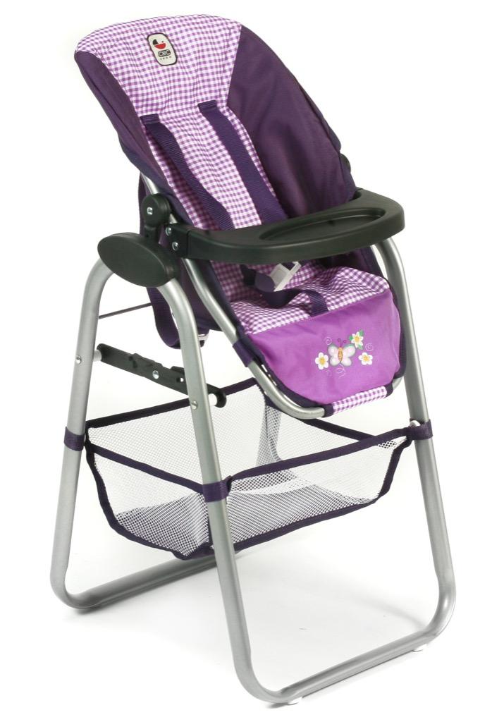 Bayer Chic Vysoká jídelní židlička pro panenky 2016 28