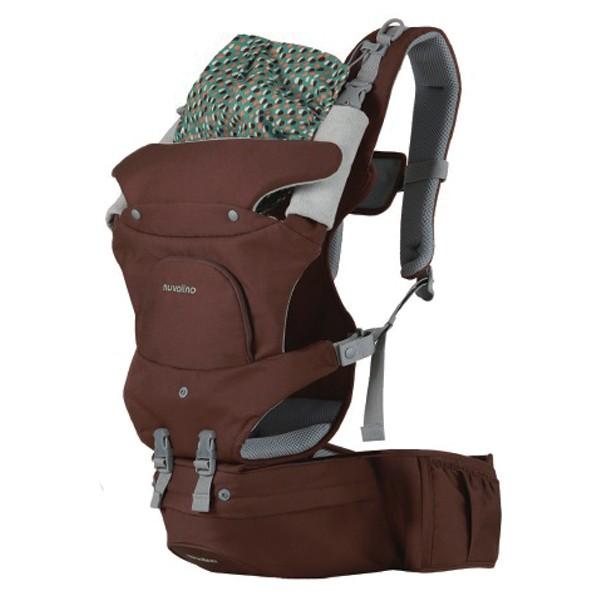 NUVOLINO Nosič na dítě Active Hipseat brown