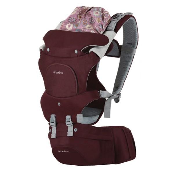 NUVOLINO Nosič na dítě Active Hipseat purple