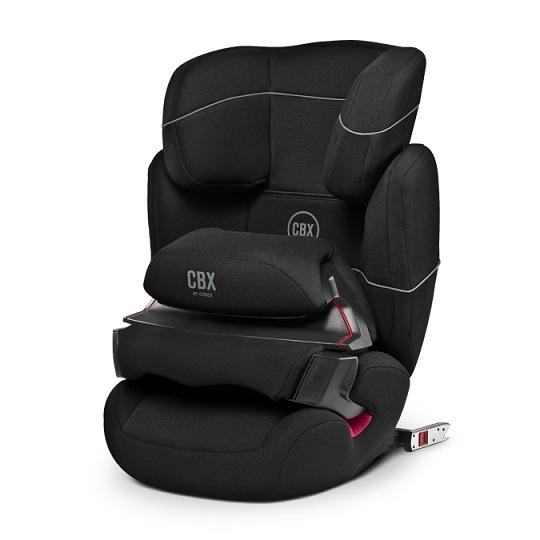 Cybex Aura - FIX 2017 autosedačka pure black