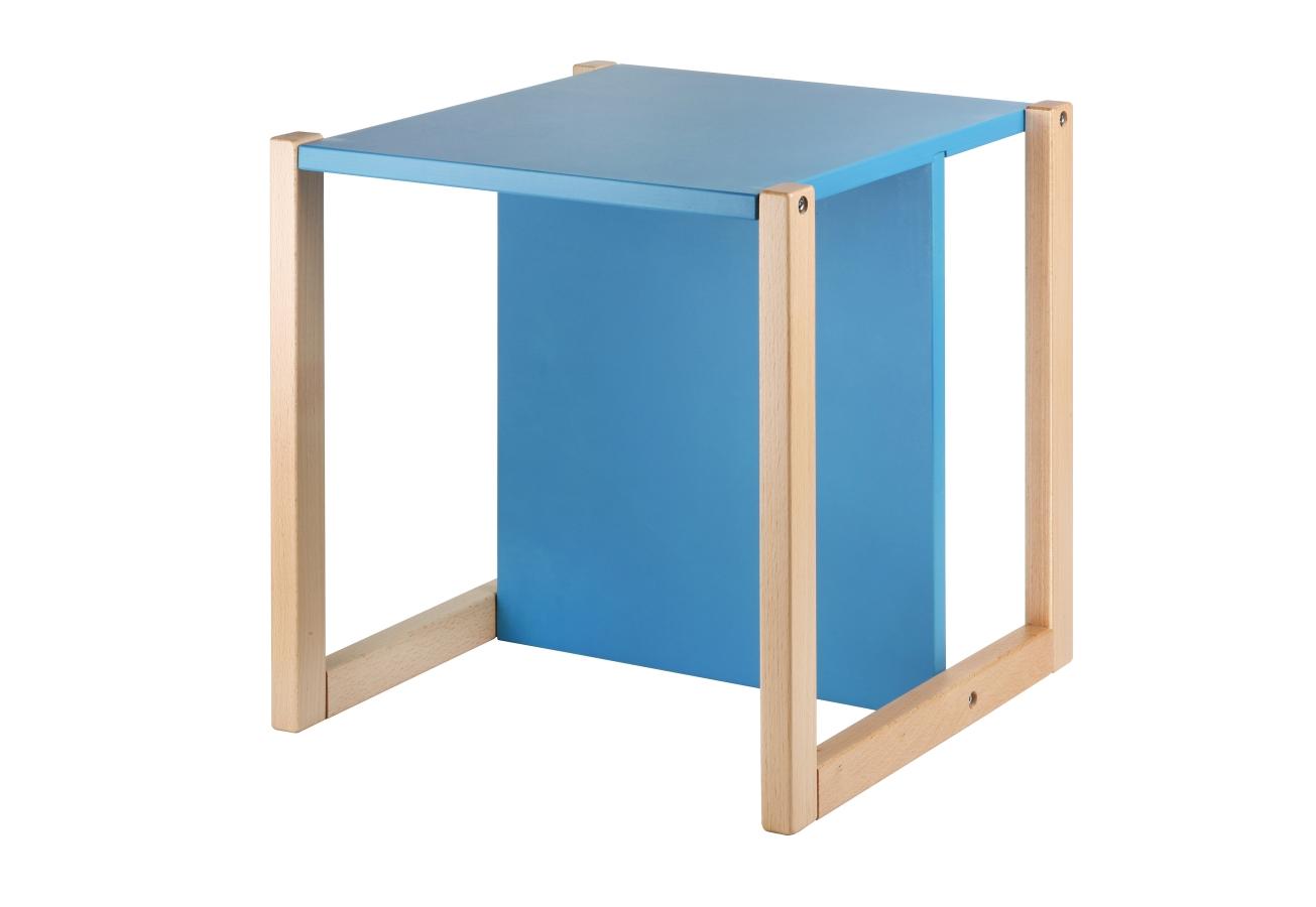 Wood Partner dětská židlička UNIVE 3v1 modrá