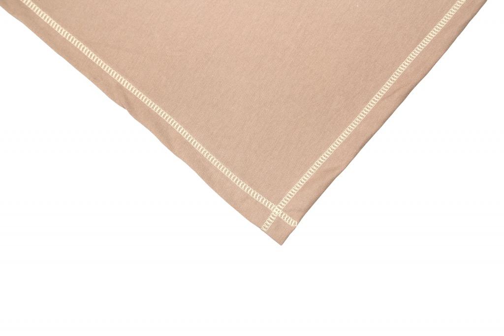 Emitex Letní deka BIO bavlna 70 x 100 cm hnědá