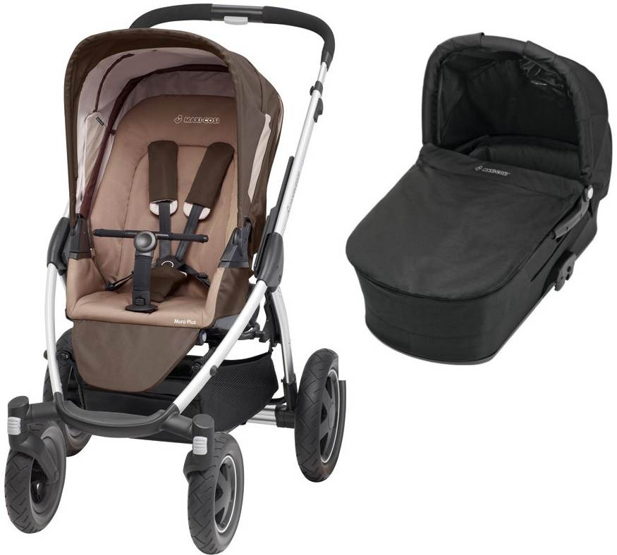 Maxi Cosi Mura 4 Plus 2015 walnut brown + Hluboká korba modern black