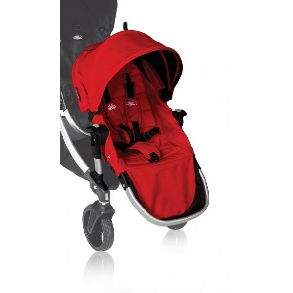Baby Jogger City Select Doplňkový sedák 2015 ruby