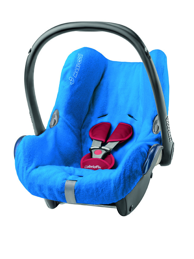 Letní potah na CabrioFix Maxi-cosi blue
