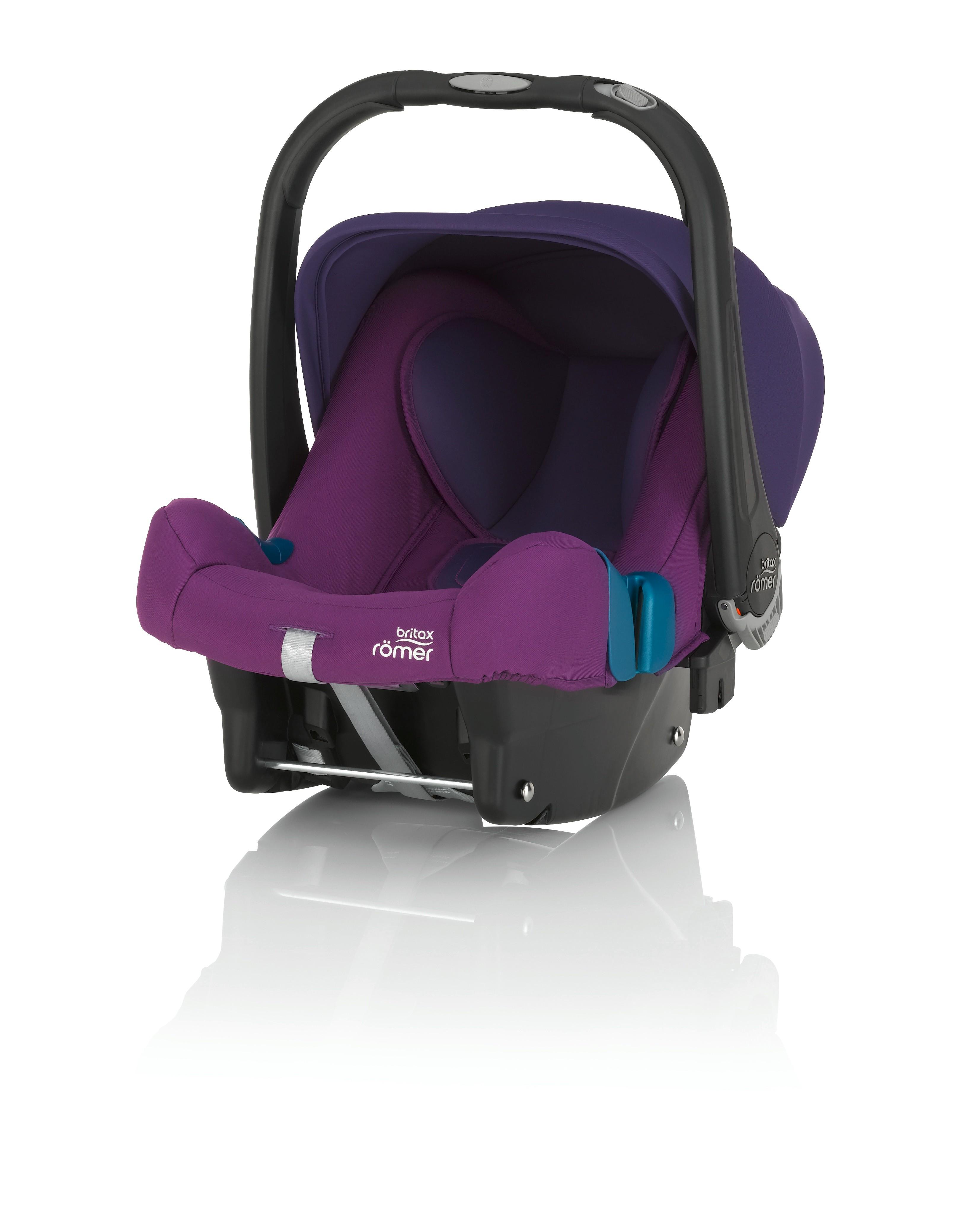 Römer Baby Safe Plus II SHR 2016 Mineral Purple