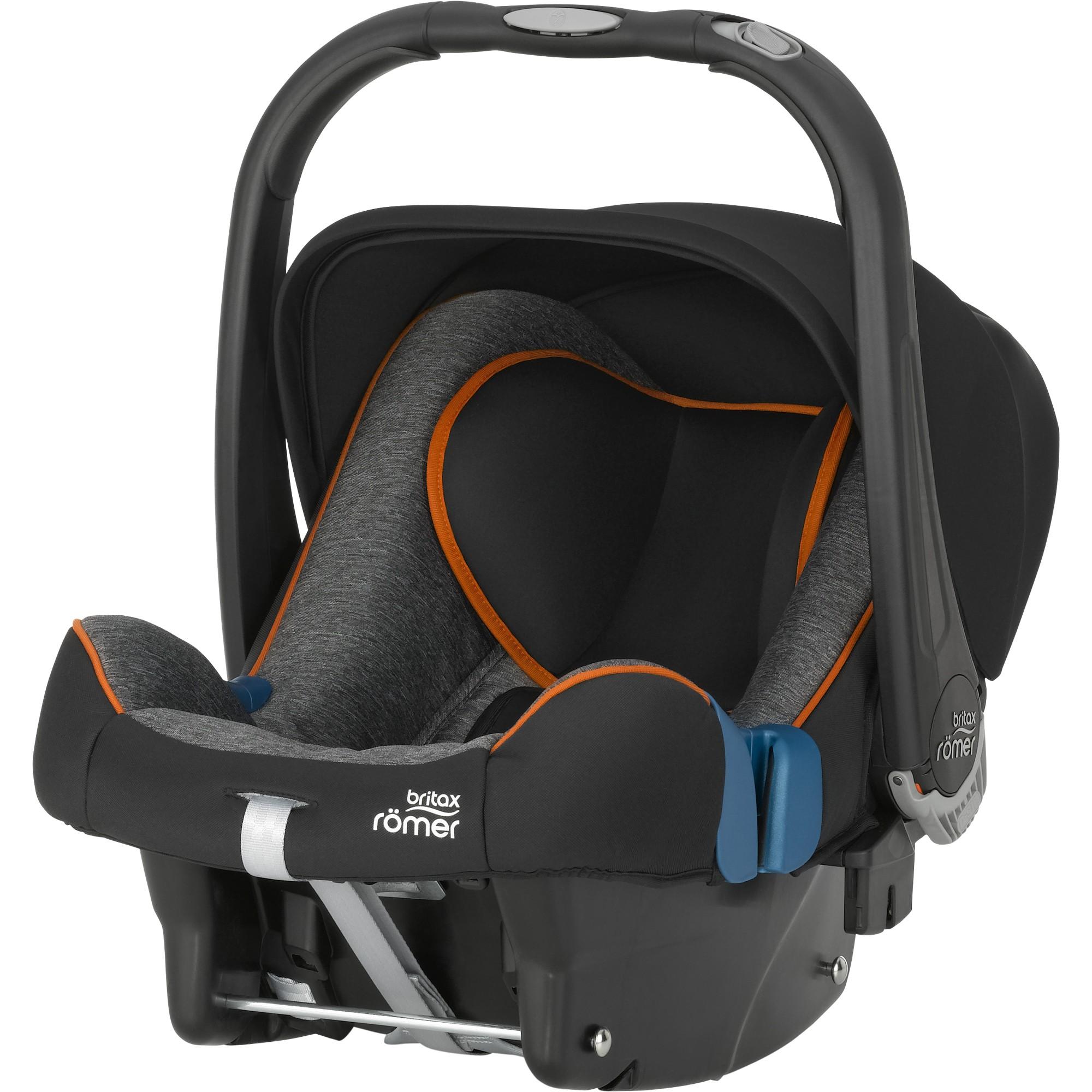 Römer Baby Safe Plus II SHR 2016 Black Marble