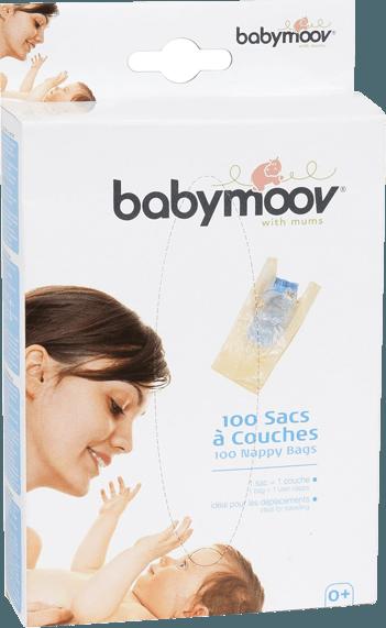 Jednorázové sáčky na použité plenky 100ks Babymoov