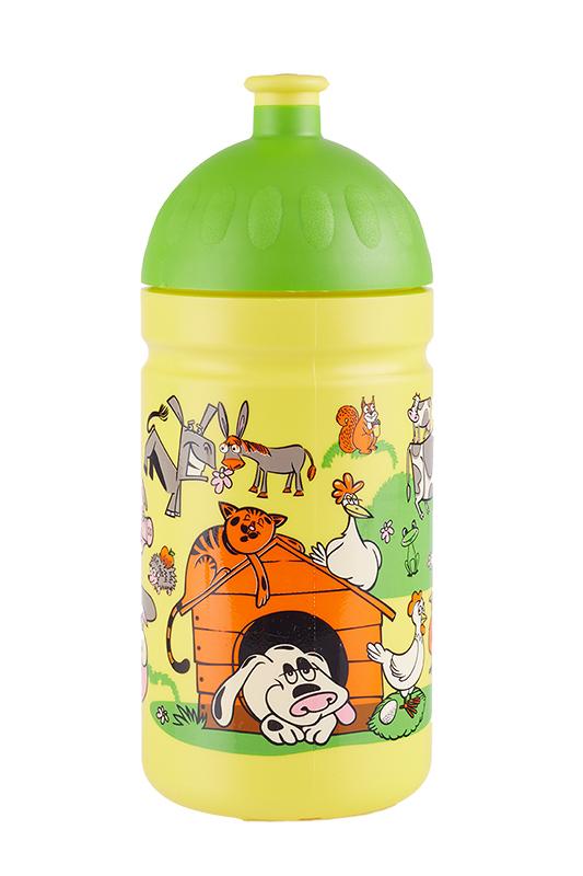 Zdravá lahev ® 0,5l dětská veselý dvorek