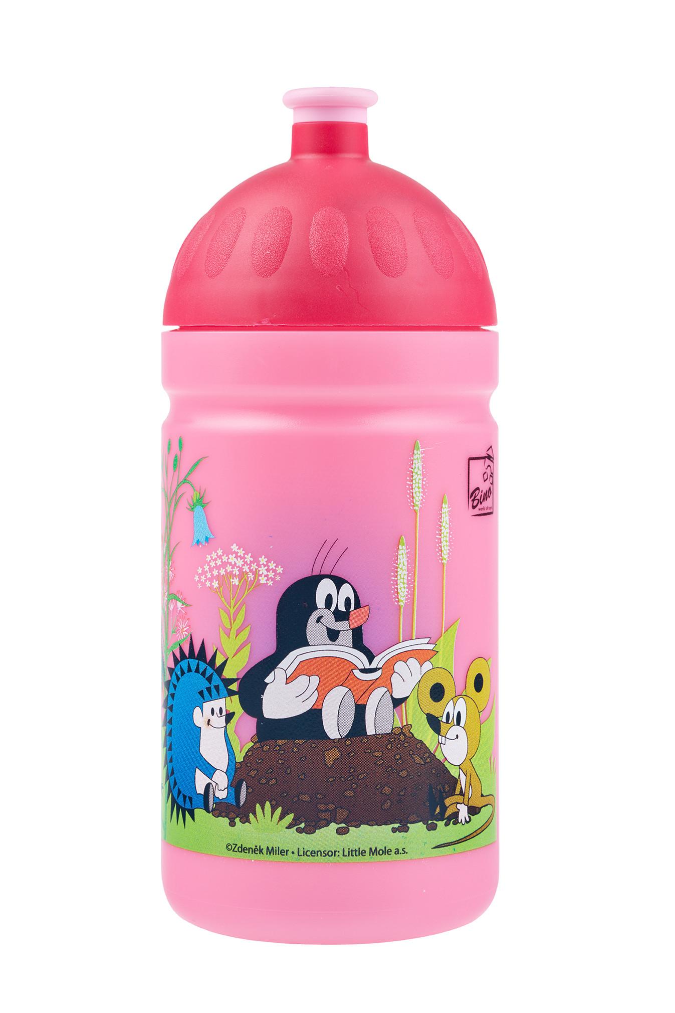 Zdravá lahev ® 0,5l dětská krtek růžová limitovaná edice