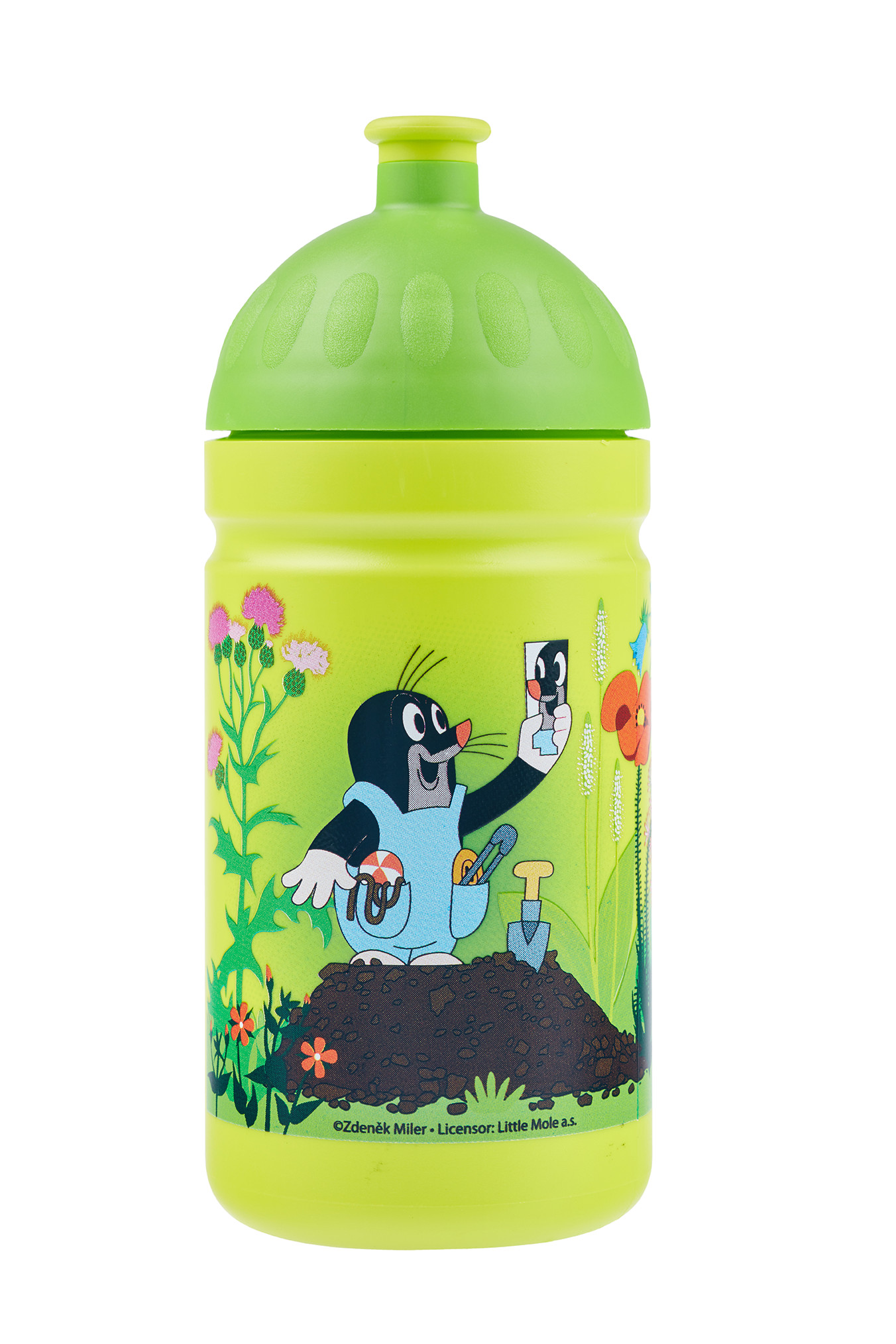 Zdravá lahev ® 0,5l dětská krtek zelená limitovaná edice