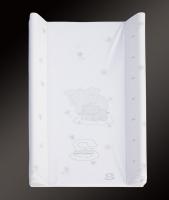 Podložka s pevnou deskou 50x70 cm Scarlett bílá