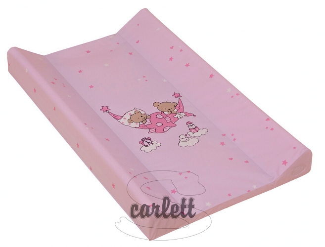 Podložka s pevnou deskou 50x70 cm Scarlett růžová