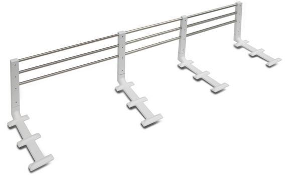 Zábrana na postel kovová Reer