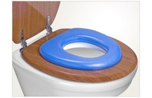 WC sedátko Soft Reer modré