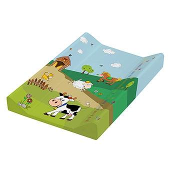 OKT podložka s pevnou deskou funny farm zelená
