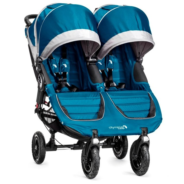 Baby Jogger - City Mini GT Double 2015 teal/gray