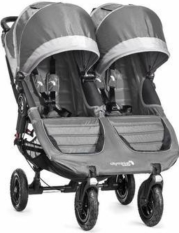 Baby Jogger - City Mini GT Double 2016 steel/gray