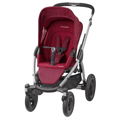 Maxi Cosi - Mura Plus 4 2016 + korba a autosedačka Cabriofix robin red