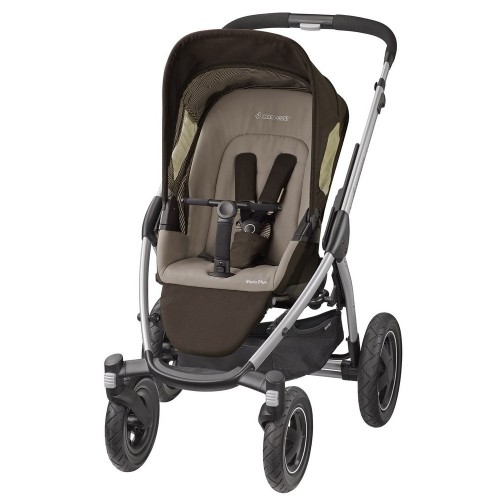 Maxi Cosi - Mura Plus 4 2016 + korba a autosedačka Cabriofix earth brown