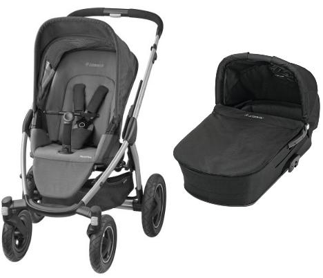 Maxi Cosi - Mura Plus 4 2016 concrete grey + korba modern black a autosedačka Cabriofix
