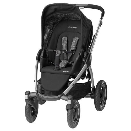 Maxi Cosi - Mura Plus 4 2015 + korba a autosedačka Cabriofix digital black