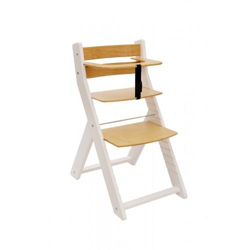 Wood Partner dětská rostoucí židle UNIZE bílá natur