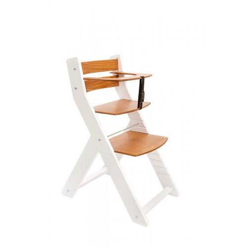 Wood Partner dětská rostoucí židle UNIZE bílá třešeň