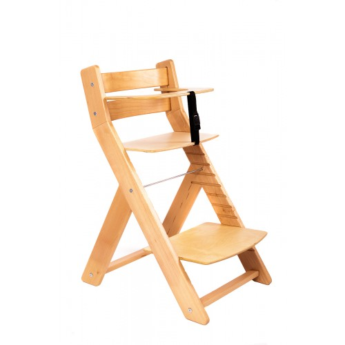 Dětská rostoucí židle UNIZE Wood Partner natur natur