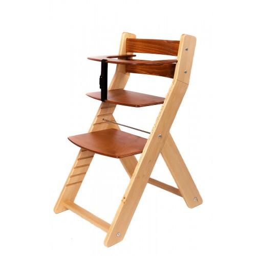 Wood Partner dětská rostoucí židle UNIZE natur třešeň