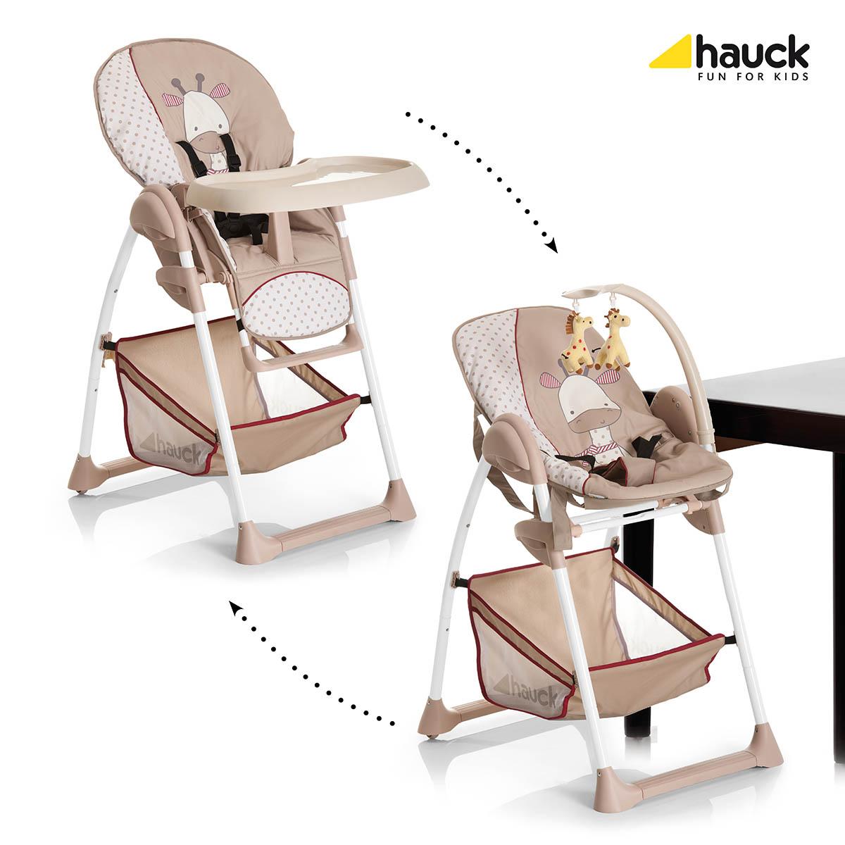 Hauck Sit´n Relax 2017 jídelní židlička 2v1 : giraffe