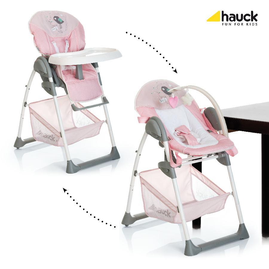 Hauck Sit´n Relax 2017 jídelní židlička 2v1: birdie