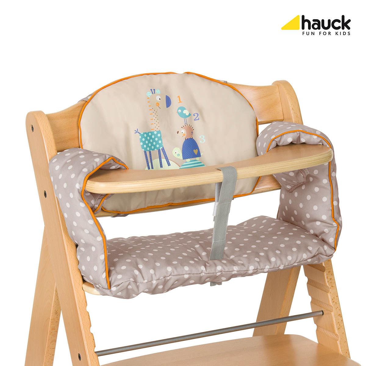 Hauck Potah DeLuxe 2017 na jídelní židličku : animals