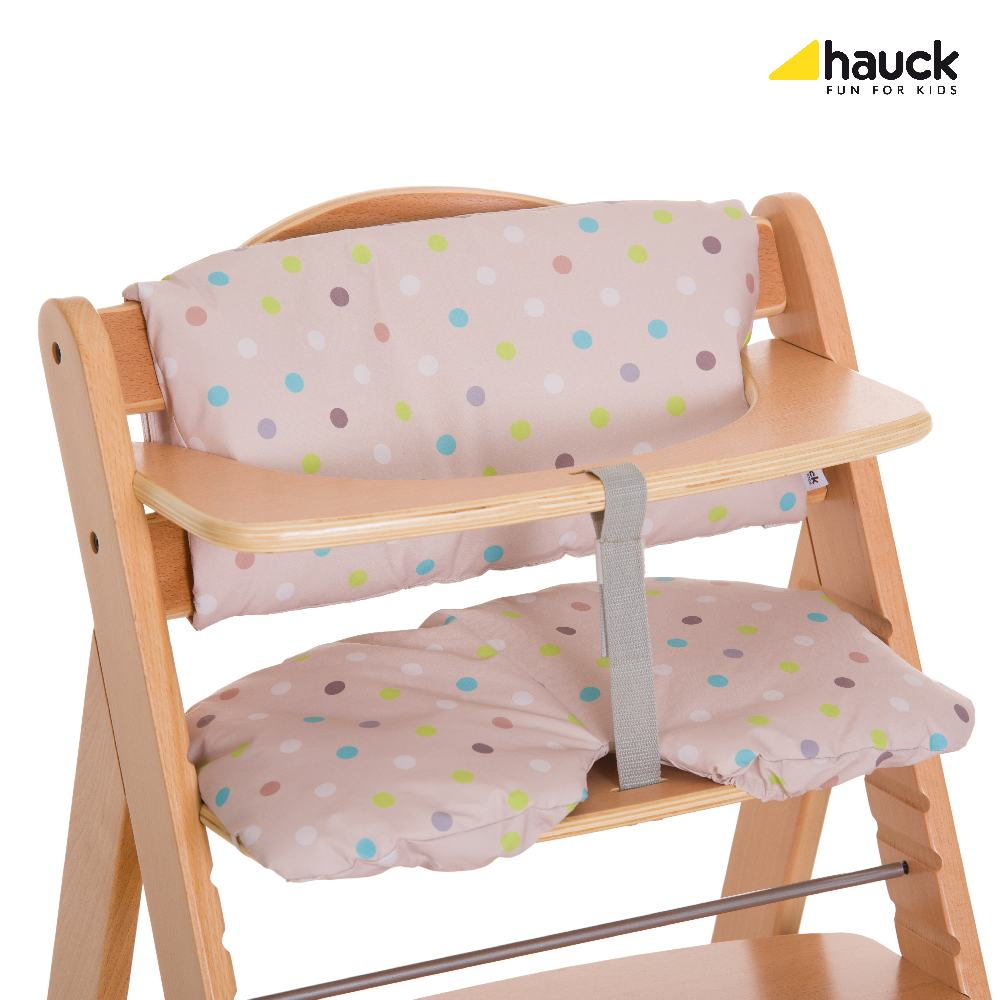 Hauck Potah 2017 na židličku Alpha: multi dots sand