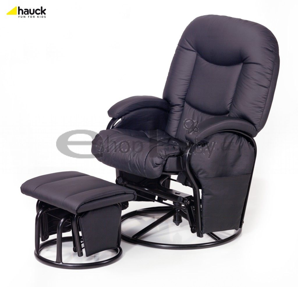Hauck Glider metal recline 2017 : black