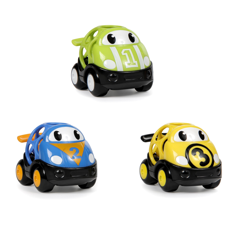 Hračka autíčko závodní Herbie, Tom a Mike Oball Go Grippers 18m+,3ks