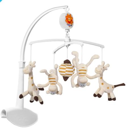 Kolotoč hudební - žirafy + opice
