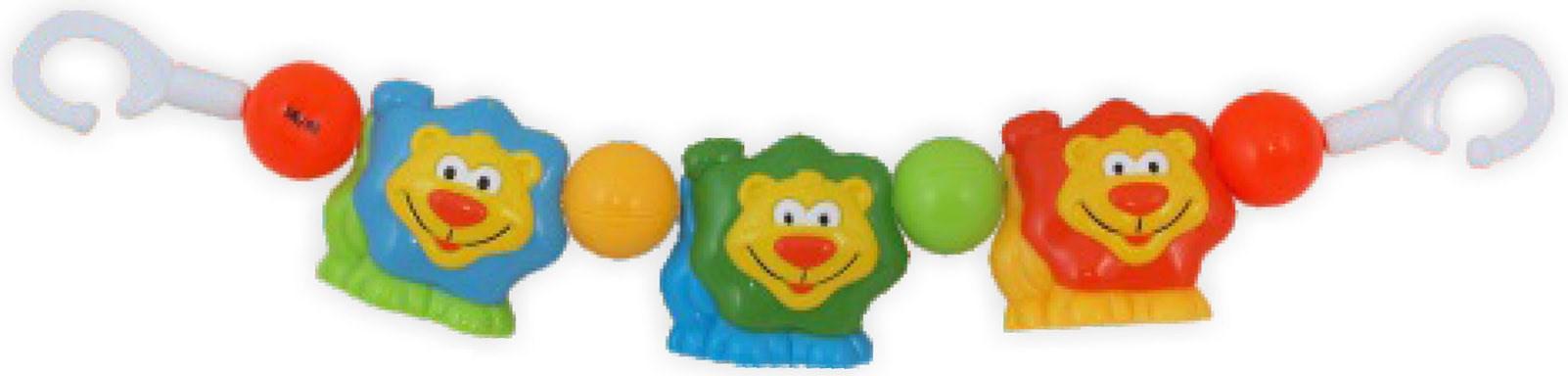 Dětské chrastítko do kočárku Baby Mix lvi