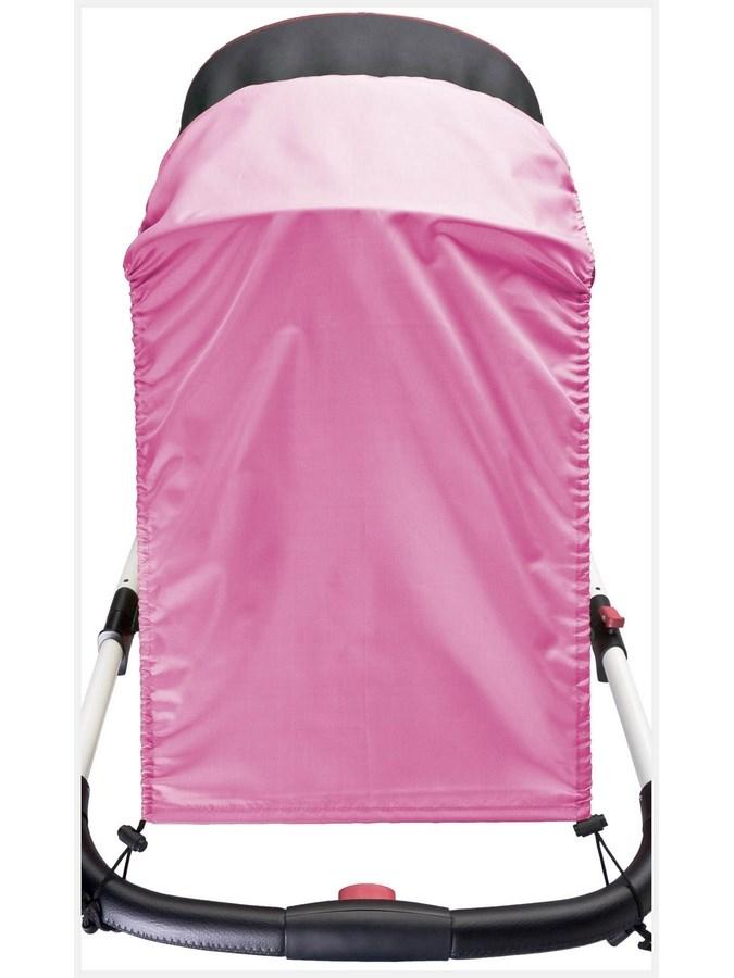 Sluneční clona na kočárek CARETERO pink