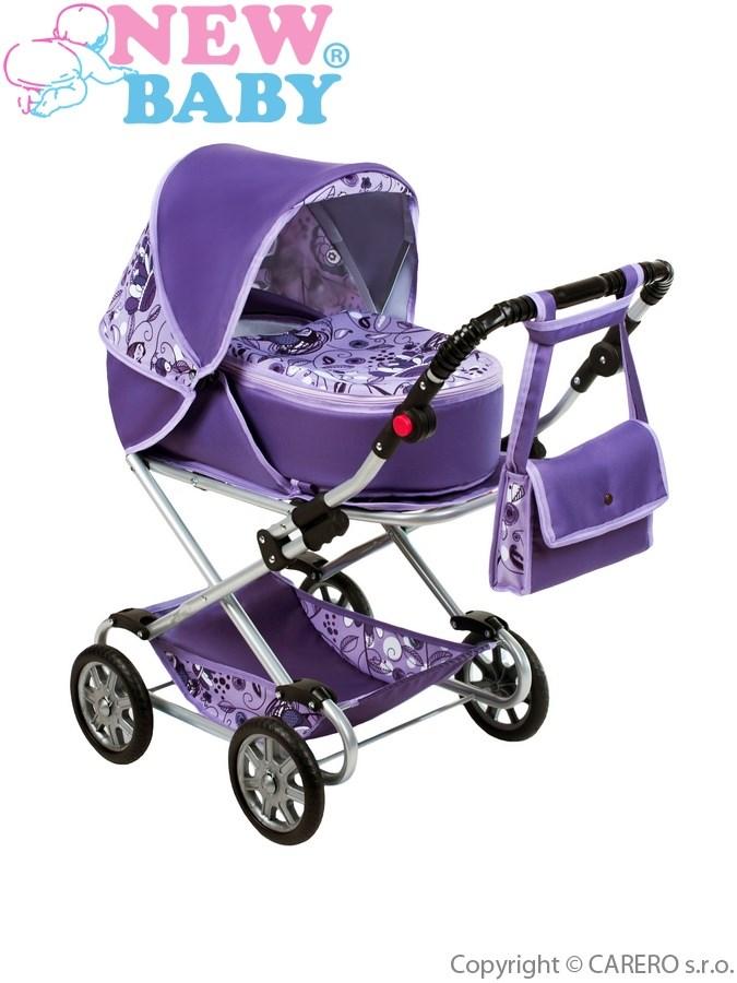 Dětský kočárek pro panenky 2v1 New Baby Lily