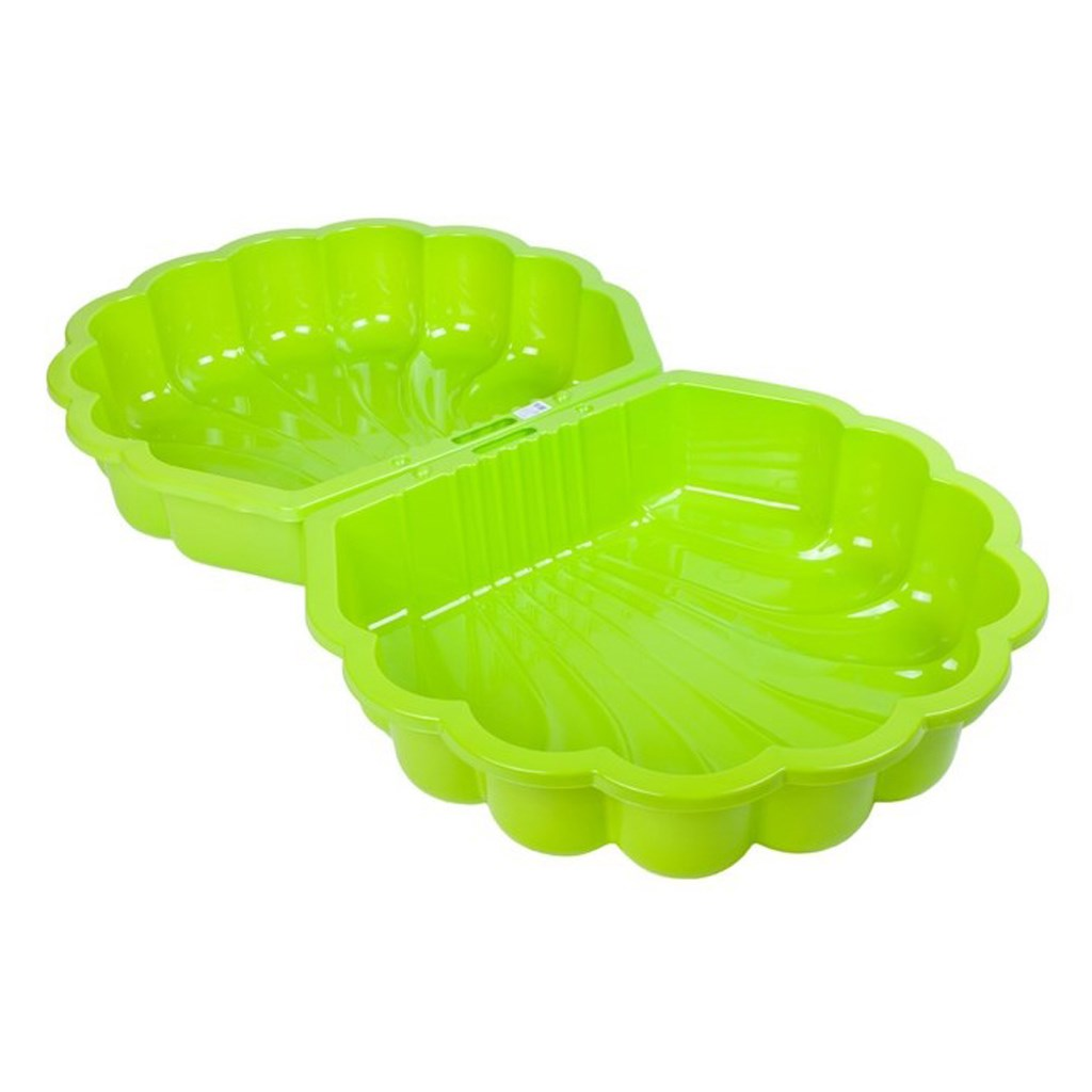 Pískoviště-bazének Mušle - 2 ks světle zelené