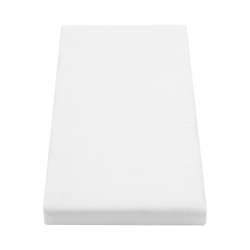 Matrace do postýlky molitan-kokos 80x40 cm - bílá