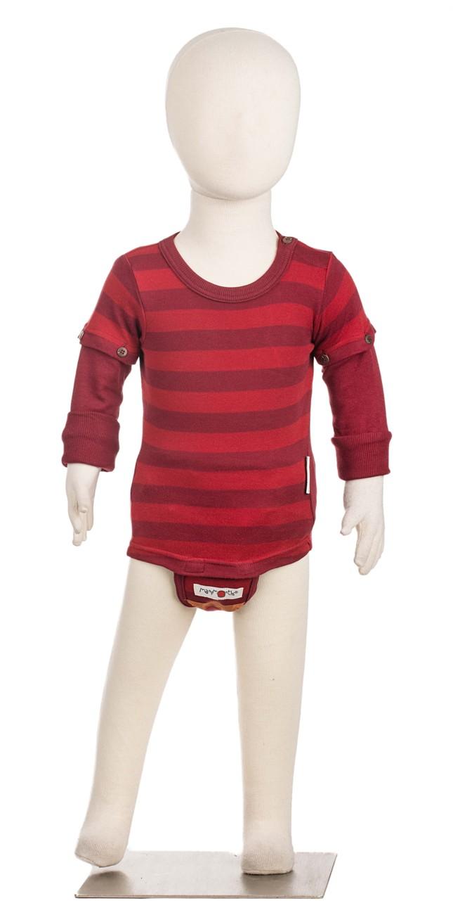 MM ECO 16 body/tričko biobavlna Sweet Cherry-Adventurer...1-2/2,5roků