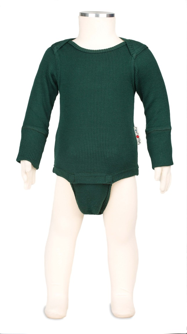 Manymonths body/tričko merino 16 Sequoia Green-Adventurer...1-2/2,5roků