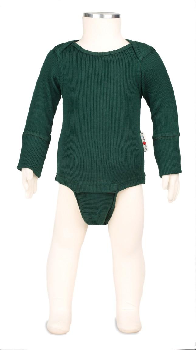 Manymonths body/tričko merino 16 Sequoia Green-Charmer/Explorer...3-12/18měs.