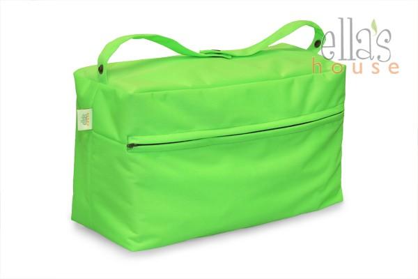 Buggy bag zelená-taška na pleny